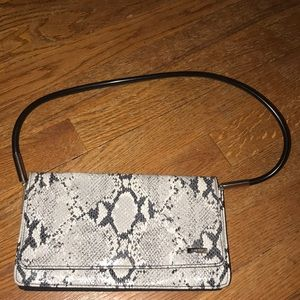 Nine West Snakeskin Mini Shoulder Bag